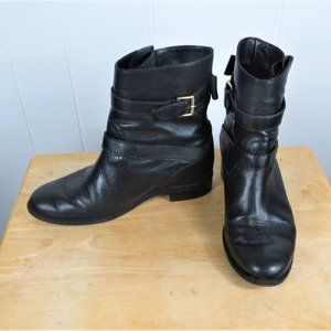 Kate Spade Leather Boots Size 9 M